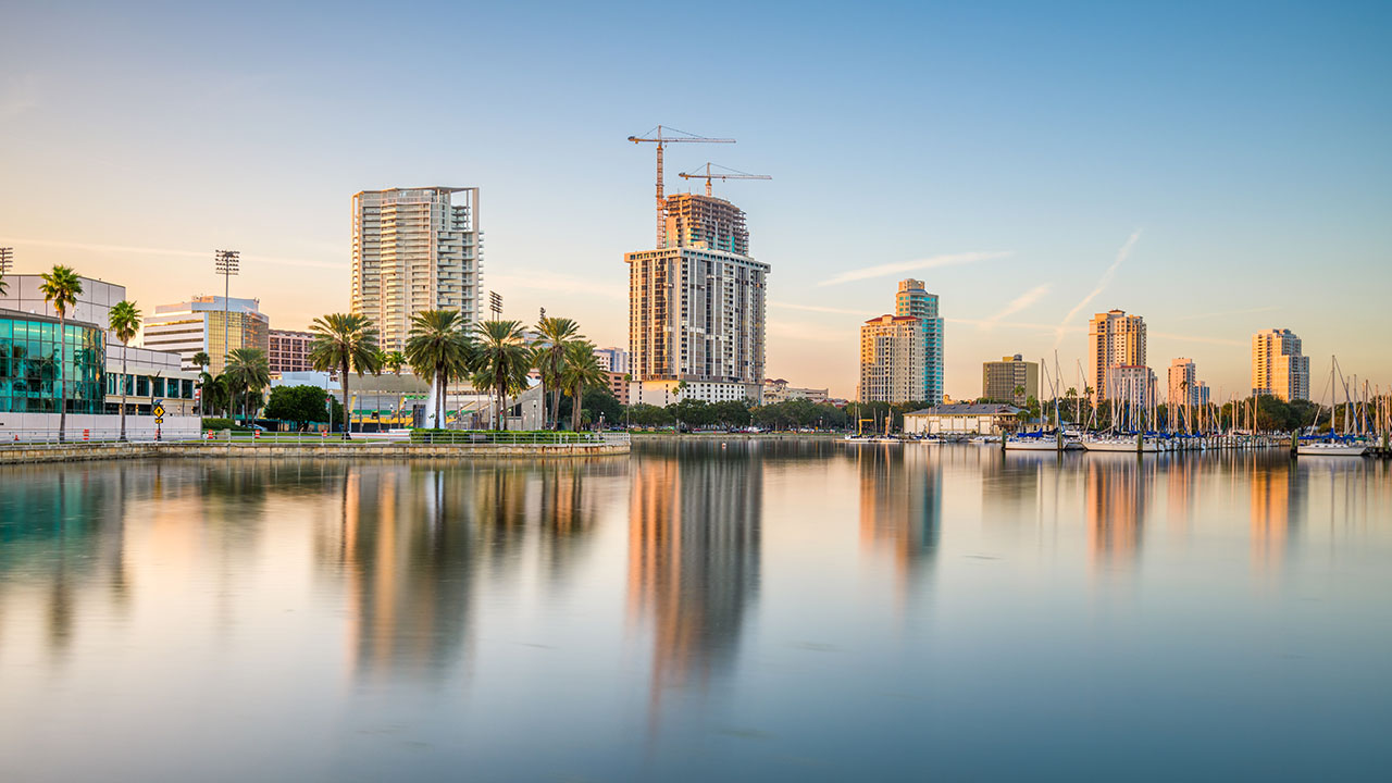 st petersburg florida usa downtown city skyline22